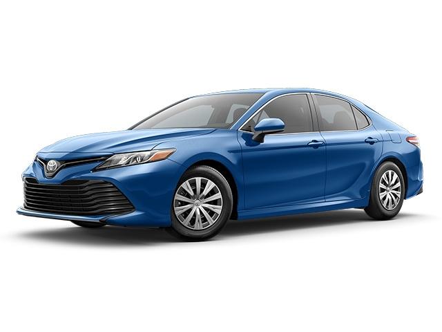 2019 Toyota Camry in Blue Streak Metallic color