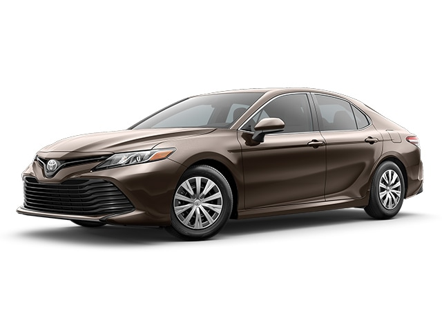 2019 Toyota Camry in Brownstone color