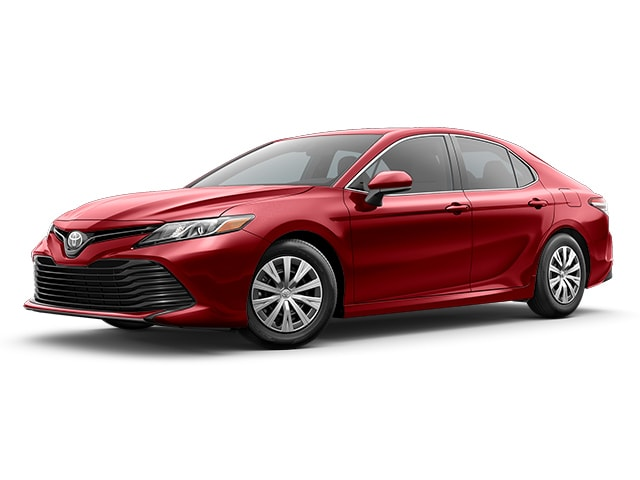 2019 Toyota Camry in Ruby Flare Pearl color
