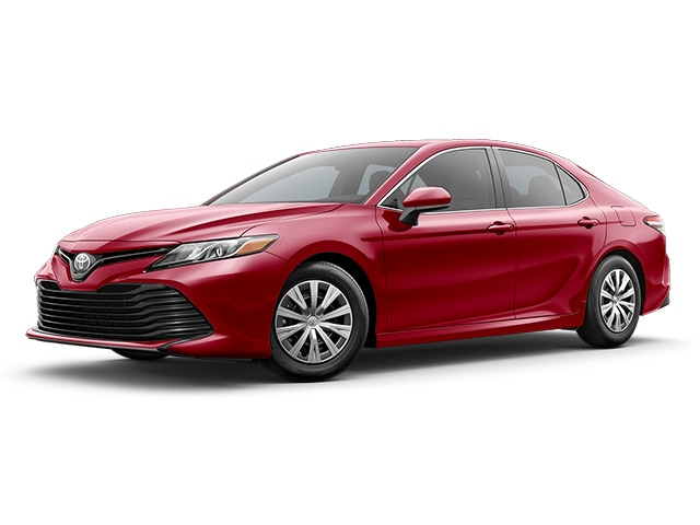 2019 Toyota Camry in Supersonic Red color