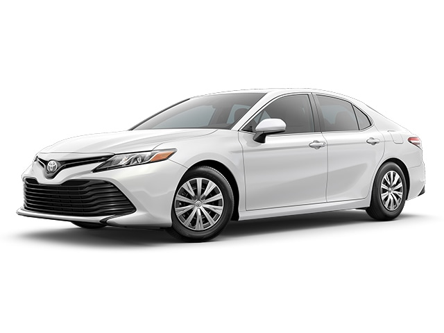 2019 Toyota Camry in Super White color