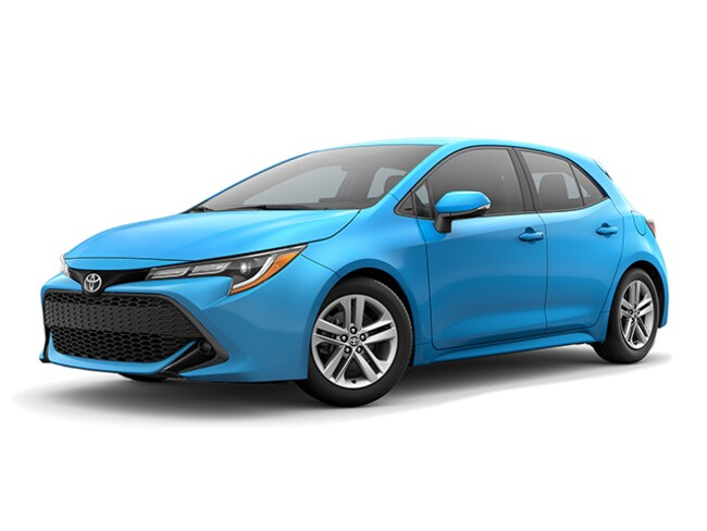 New Toyota vehicle 2019 Toyota Corolla Hatchback SE Hatchback for sale in Peoria, AZ near Phoenix