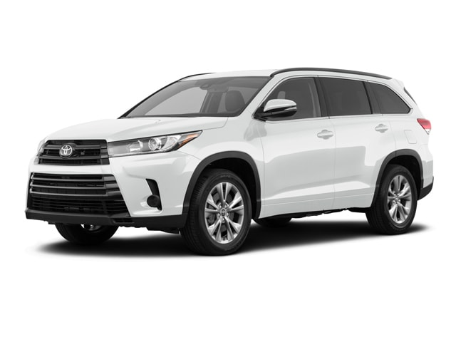 2019 Toyota Highlander in Blizzard Pearl color