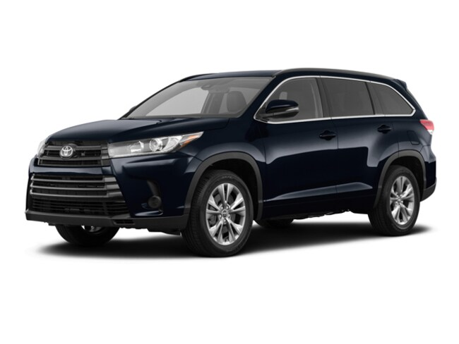 New 2019 Toyota Highlander LE I4 SUV in Ruston, LA