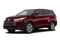 New 2019 Toyota Highlander LE I4