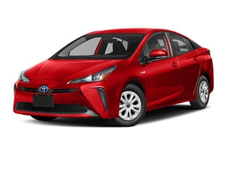 2019 Toyota Prius Hatchback Supersonic Red