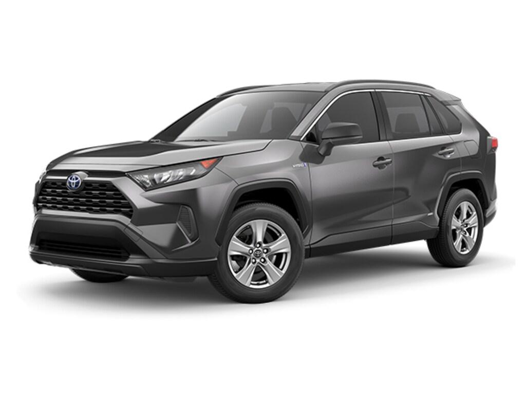 New 2019 Toyota RAV4 Hybrid SUV LE Magnetic Gray For Sale