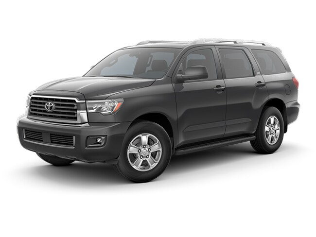 New 2019 Toyota Sequoia SR5 SUV in Auburn, MA