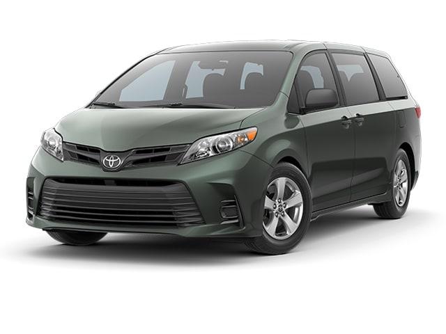 2019 Toyota Sienna Van Alumina Jade Metallic