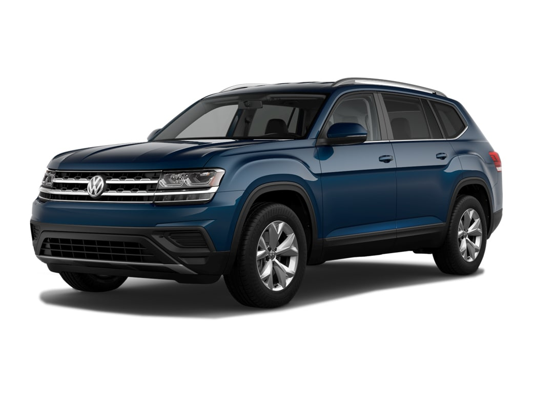 2019 Volkswagen Atlas SUV Tourmaline Blue Metallic