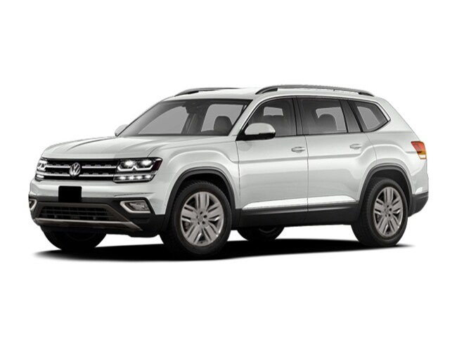 New 2019 Volkswagen Atlas 3.6L V6 SEL Premium 4MOTION SUV in Bloomington IN