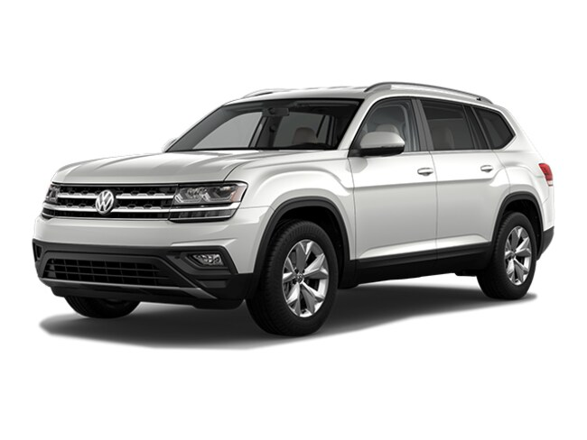 New 2019 Volkswagen Atlas 3.6L V6 SE w/Technology 4MOTION SUV for sale in Auburn, MA
