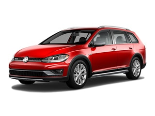 2019 Volkswagen Golf Alltrack Wagon Tornado Red