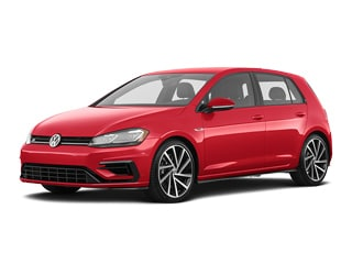 2019 Volkswagen Golf R Hatchback Tornado Red