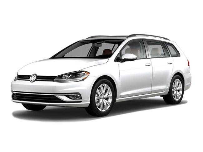 New 2019 Volkswagen Golf SportWagen 1.4T SE Wagon in Bloomington IN
