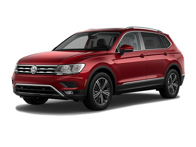 2019 Volkswagen Tiguan 2.0T SEL 4MOTION SUV New Volkswagen Car for sale in Bernardsville, New Jersey