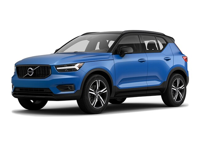 New 2019 Volvo XC40 T5 R-Design SUV in Edinburg, Texas, at Volvo of Edinburg