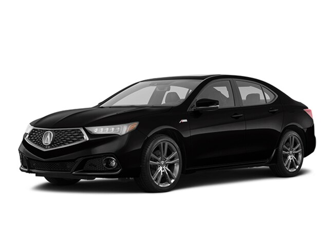 New 2020 Acura TLX with A-Spec Package Sedan Tustin