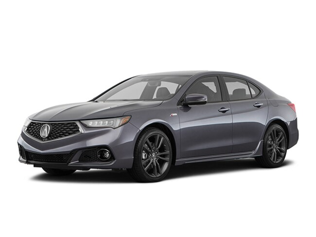 New 2020 Acura TLX V-6 with A-Spec Package Sedan Tustin