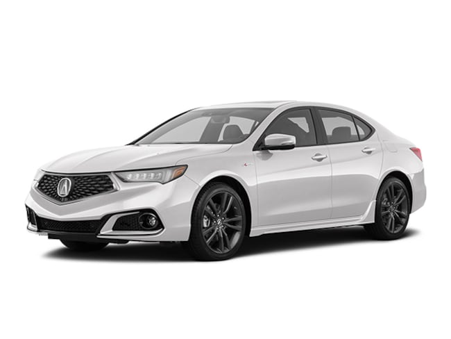 New 2020 Acura TLX V-6 with A-Spec Package and Red Interior Sedan Tustin