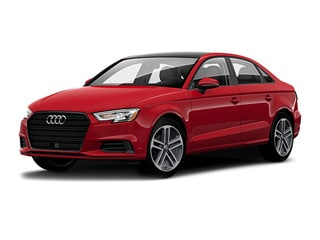 2020 Audi A3 Sedan Tango Red Metallic