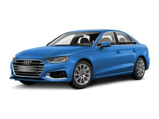 2020 Audi A4 Sedan Turbo Blue