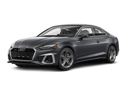 Featured pre-owned 2020 Audi A5 2.0T Premium Coupe for sale near Burlington Vermont