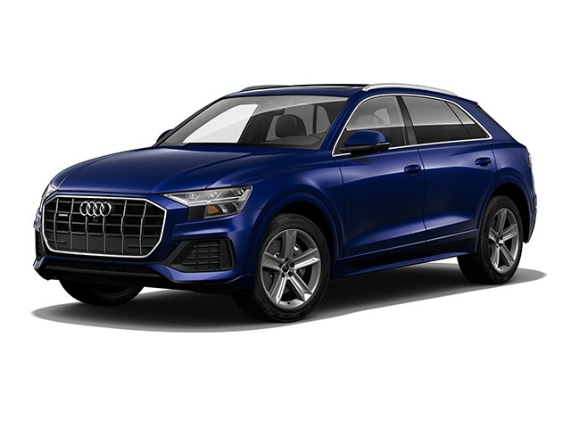 New 2020 Audi Q8 55 Premium Plus SUV WA1EVAF18LD004740 in Huntington, NY