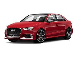 2020 Audi RS 3 Sedan Tango Red Metallic