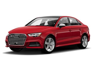 2020 Audi S3 Sedan Tango Red Metallic