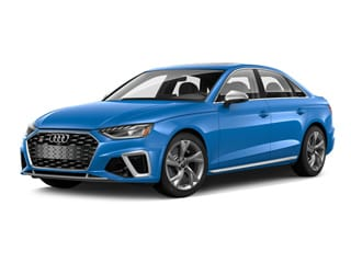 2020 Audi S4 Sedan Turbo Blue