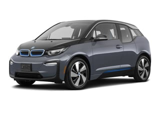 2020 BMW i3 Sedan Mineral Gray Metallic BMW i Frozen Blue Accent