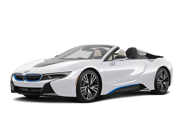 2020 Bmw I8 White And Blue