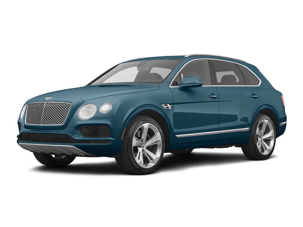 2020 Bentley Bentayga SUV Windsor Blue