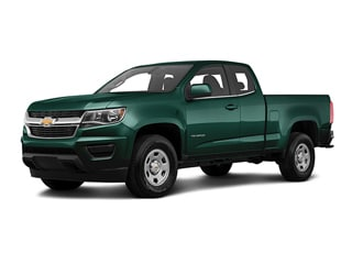 2020 Chevrolet Colorado Truck Woodland Green