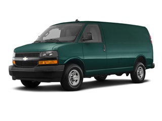 2020 Chevrolet Express 3500 Van Woodland Green