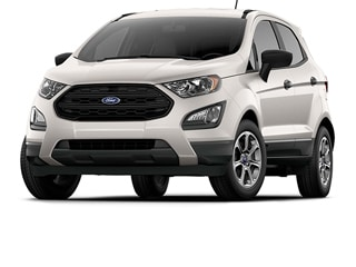 2020 Ford EcoSport SUV White Platinum Metallic