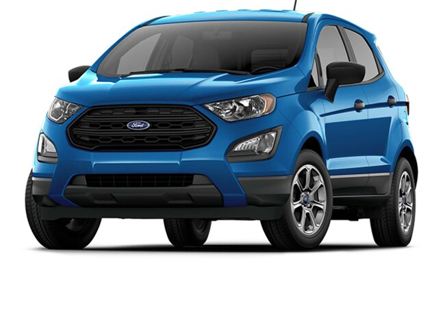 Classic Ford Galveston >> New 2020 Ford Ecosport S For Sale In Galveston Tx Vin