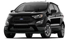 New 2020 Ford EcoSport S S FWD for sale in East Windsor, NJ at Haldeman Ford Rt. 130