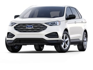 2020 Ford Edge SUV Star White Metallic Tri Coat