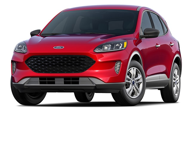 2020 Ford Escape SUV Rapid Red Metallic Tinted Clearcoat