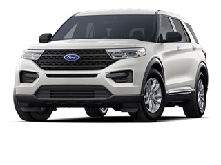 2020 Ford Explorer SUV Star White Metallic Tri Coat