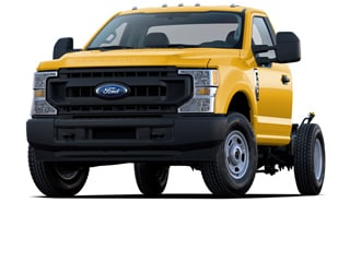 2020 Ford F-350 Chassis Truck Yellow