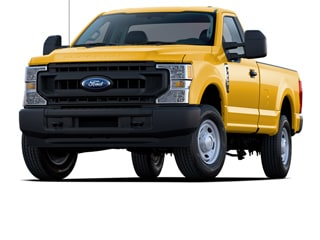 2020 Ford F-350 Truck Yellow