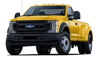 2020 Ford F-450 Truck Yellow