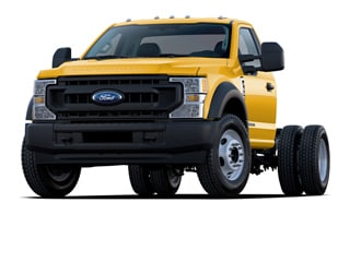 2020 Ford F-550 Chassis Truck Yellow