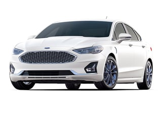 2020 Ford Fusion Energi Sedan White Platinum Metallic Tri Coat