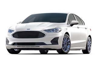 2020 Ford Fusion Hybrid Sedan White Platinum Metallic Tri Coat