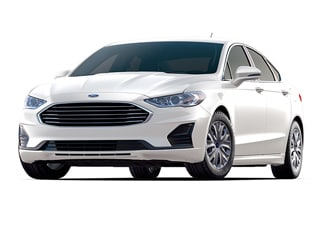 2020 Ford Fusion Sedan White Platinum Metallic Tri Coat