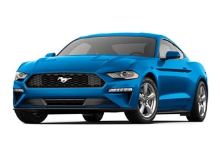 2020 Ford Mustang Coupe Velocity Blue Metallic